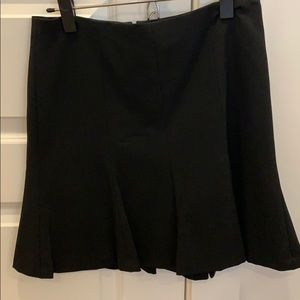 Express fit and flare suiting skirt